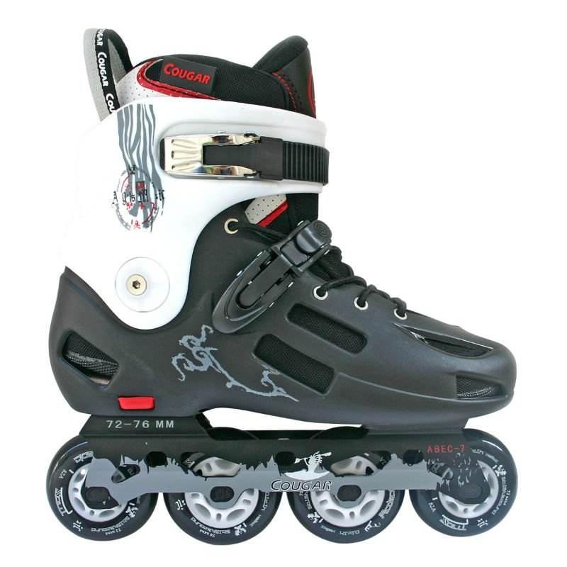 2012新式のインラインスケート