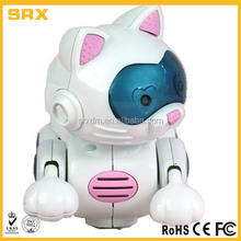 Custom plastic material Electronic Robot Cat Pet Toy MANUFACTURER