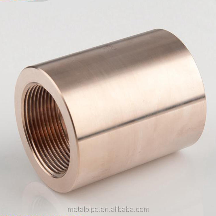 COPPER-NICKEL-C70600-CUNI-90-10 forged pipe fittings Threaded Coupling