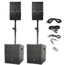 12-Inch 3000W DJ Powered PA Bluetooth portable multi-functional USB SD Card Remote Control Speaker System