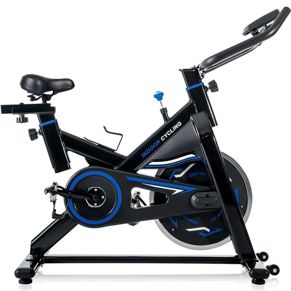 Domestic Use House TV Shopping Gym Fitness Indoor Cycling Belt Magnetic Exercise Spin Bicycle Best Spinning Bikes for home