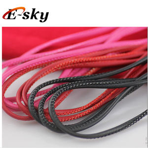 Wholesale Cheap Round Soft Stitched PU Leather Cord
