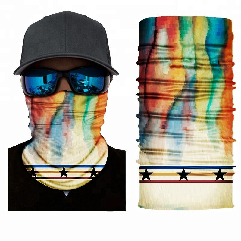 Cycling Magic Cool Sublimation Microfiber Unisex Skull Bandana