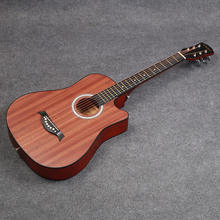 Factory Supply Wholesale Custom 38 Inch cheap Sapele Acoustic Classical Guitar for beginners