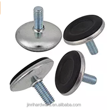 6mm Thread Adjustable Screw-in Levelling Glide Feet for Cabinet Table Leg