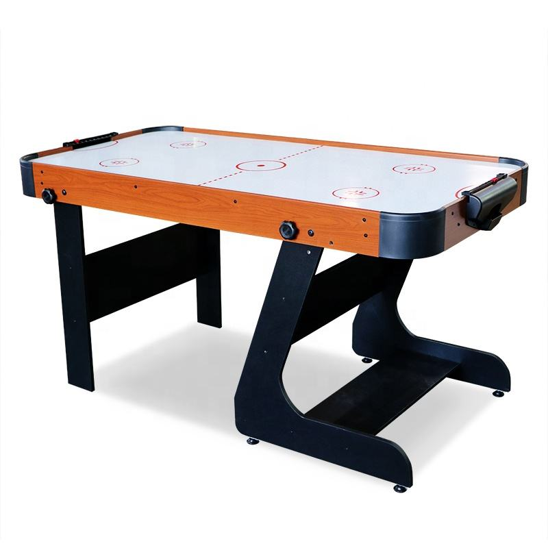 4ft 5ft folding air hockey table arcade games air powered hockey table
