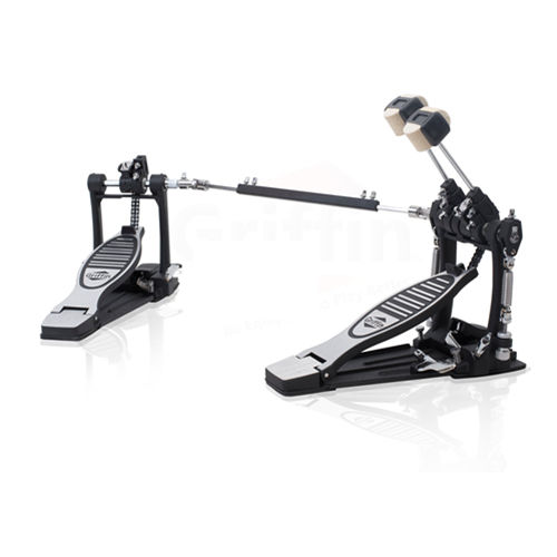 Deluxe Double Kick Drum Pedal for Bass Drum ABCP-6A/6AB