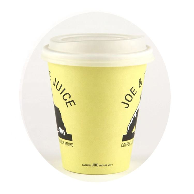 10oz 300ml pla biodegradable paper coffee cup