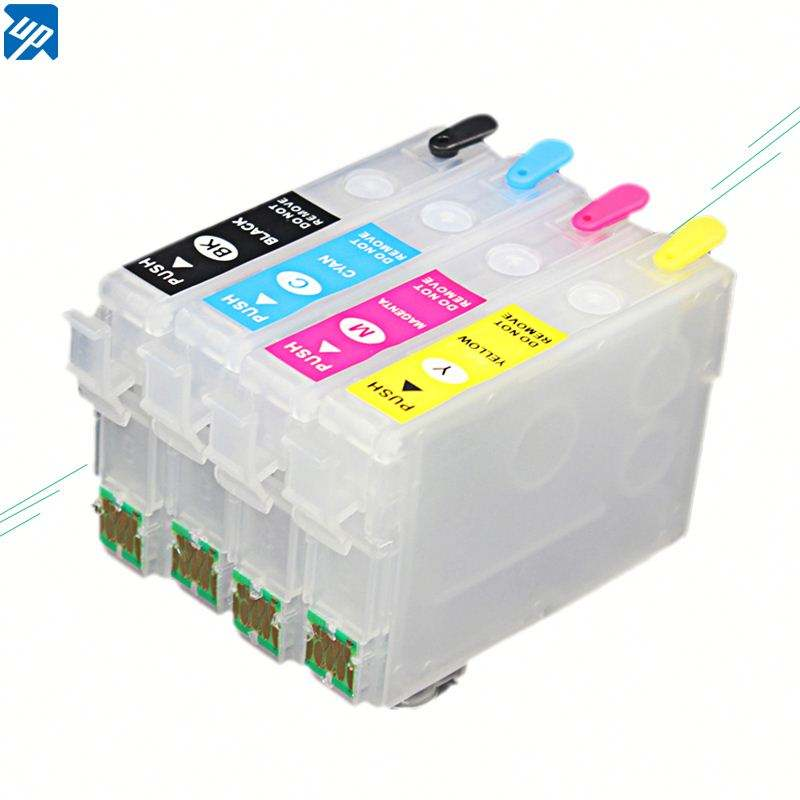Reset chip refill ink cartridge T1801-4 for Epson XP-315 XP-312 XP- 212 XP-215