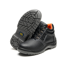 FUNTA Antistatic safty shoes work in factory Steel toe shoes