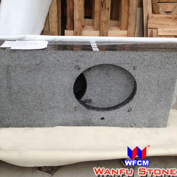 pierre comptoir de cuisine en granit pour le projet