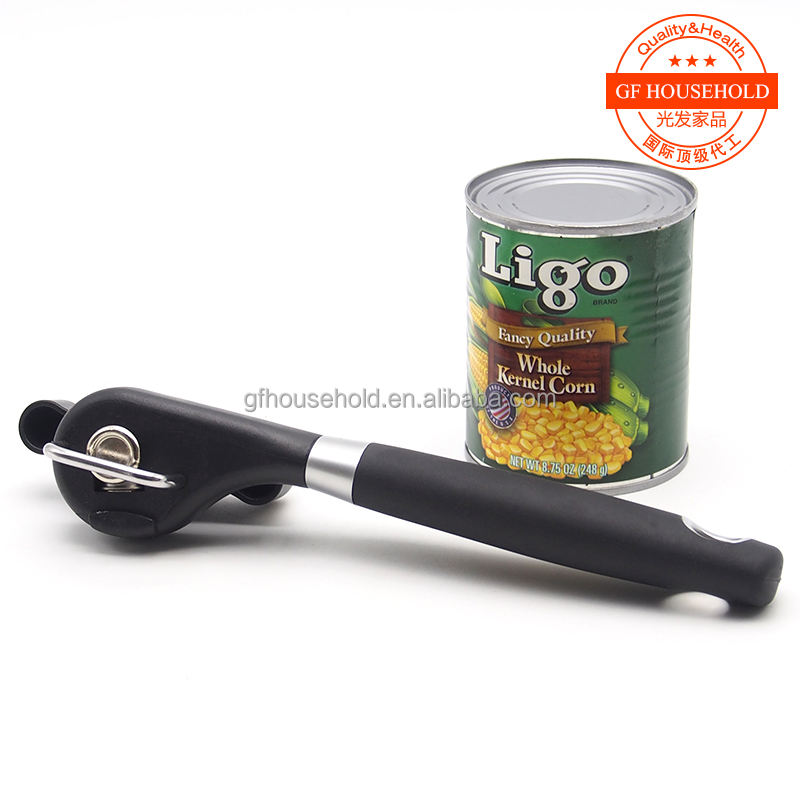 Professional Smooth Edge Can Opener with Soft Grips Handle