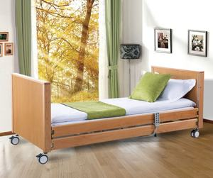 hospital solid wood furniture nursing homecare electric bed