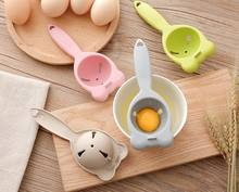 Amazon Hot Seller Plastic Egg Separator Egg White Yolk Filter Separator for Cooking Kitchen Gadget