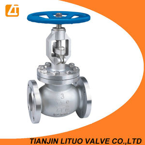 stainless steel flanged needle globe valve