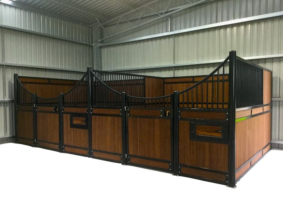 cheap European galvanized steel horse stall for sale