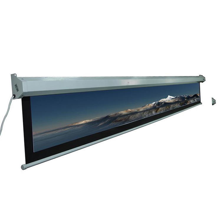 Factory Supplier beamer screen 150 inch projector screen with big size projection screen fabric