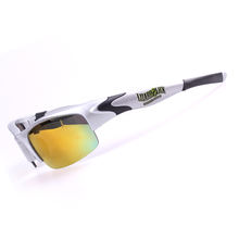 PC/TR90 material of polarized jawbone cycling glasses with unique frame