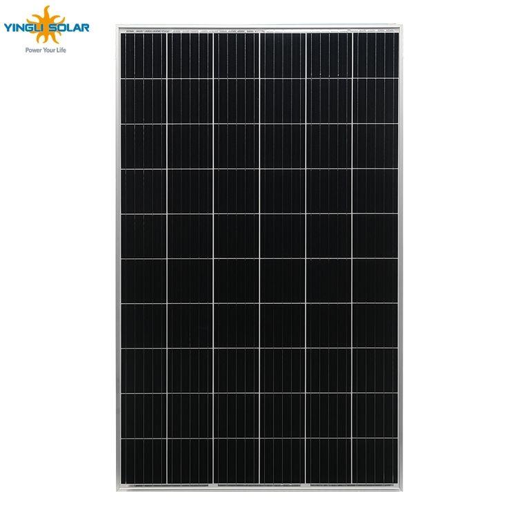 Cina top 10 produttore 255 w 260 w 265 w 270 w 275 w 280 w yingli pannello a celle solari e la batteria per la casa sistema di energia solare