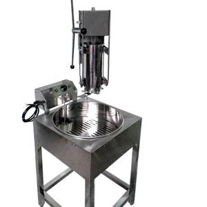 Churros Machine Met Friteuse Spaans Churro Machine Met Friteuse Churros Maker Met Friteuse 5L Hot Koop