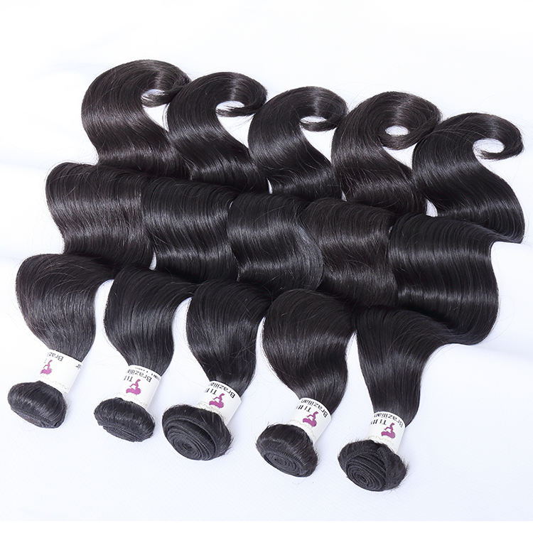professional cheap virgin thick healthy ends soft end super double drawn hair