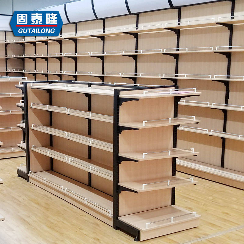 Wholesale China factory supermarket advertising display stand shelf