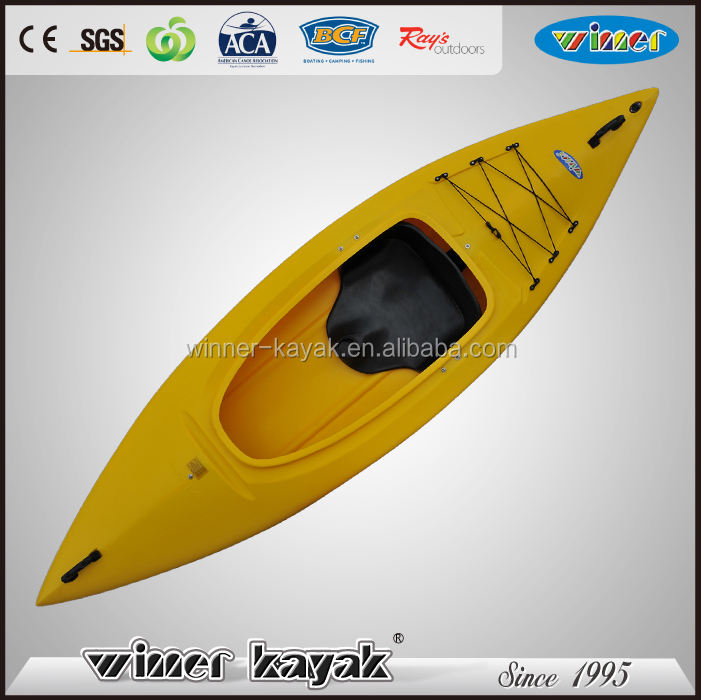 Hot sale single sea kayak one person sit in touring kayak/canoe/boat for sale