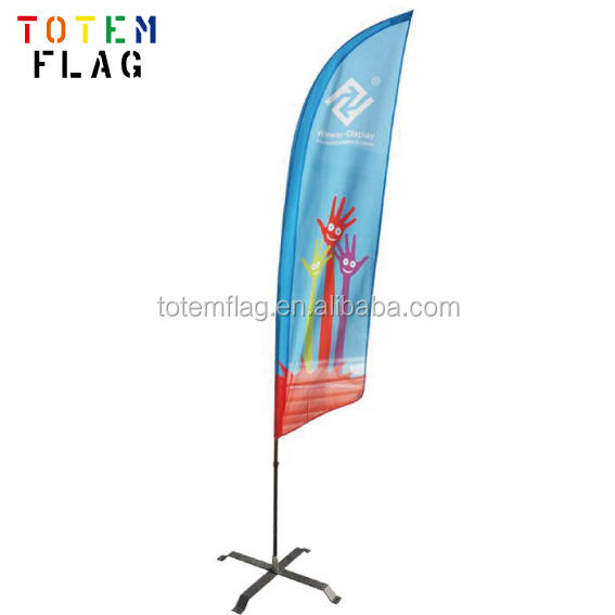 High Quality Beach Flag Used Flag Poles Sale