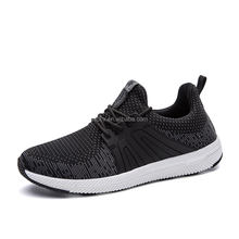 Fashion Knitting Men Casual Wedge Sports Shoes Durable Sole Breathable Athletic Sneakers