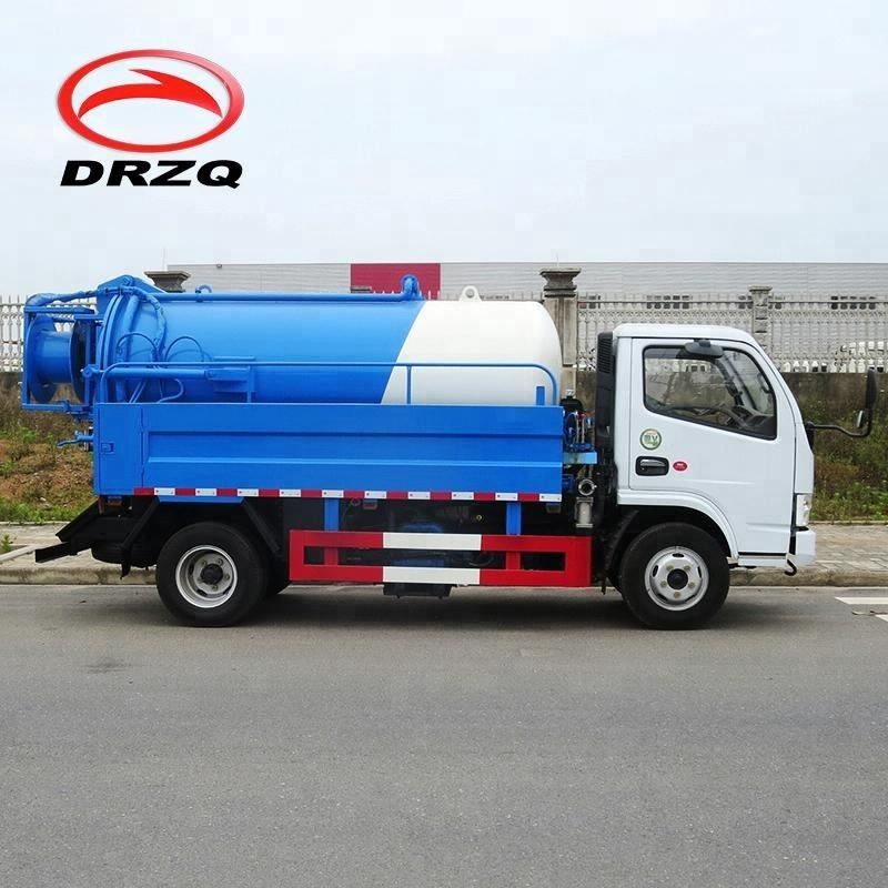 Waste water sewage suction tank truck,sewage sucker truck for sales