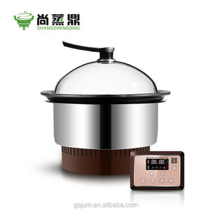 Commercial shabu steam pot electric ceramic cooking pot