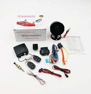 DLS best auto central lock one way car alarm security system security alarms system for South America Peru