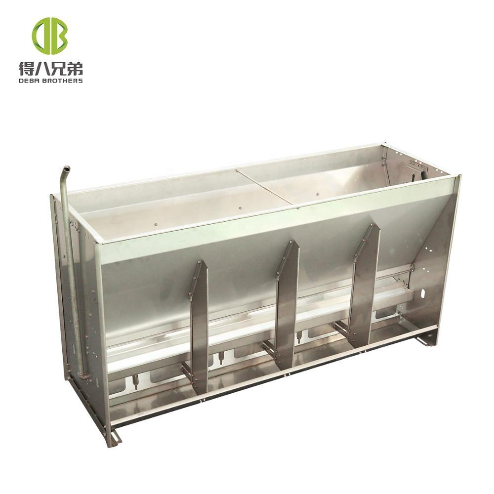Stainless Steel Automic Pig Feeder Dry wet pig feeder weaning to finishing
