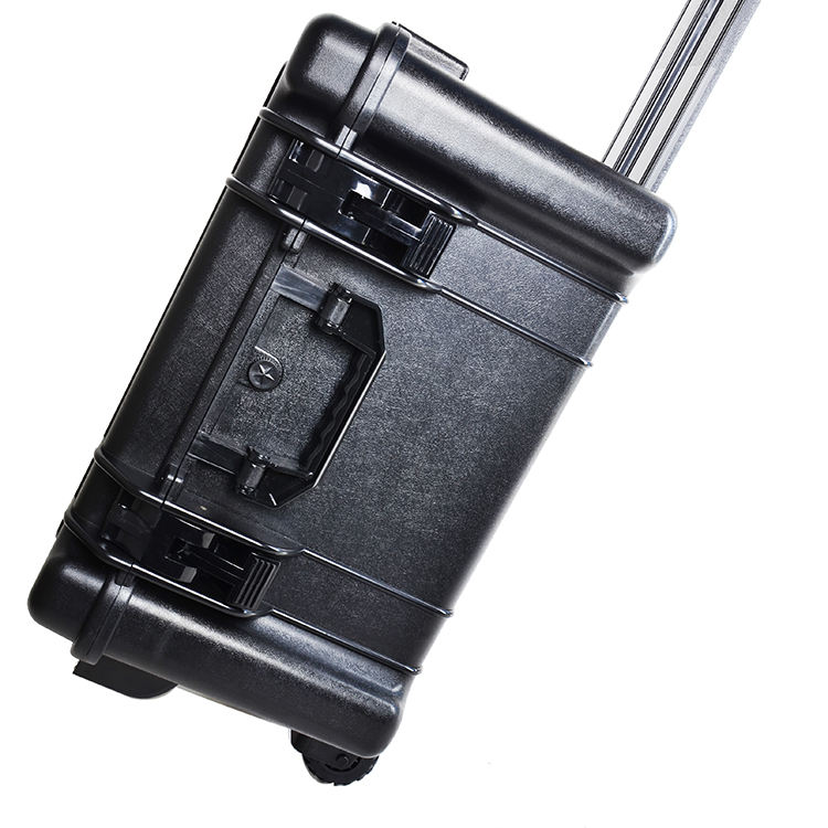 Big Space Handle Hard Waterproof Heavy Duty Plastic Wholesale Trolley Tool Box