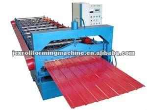 Trapezoidal Profile Metal Roofing Sheet Roll Forming Machine g\Innovative Roller Shutter Door Roll Forming Machine