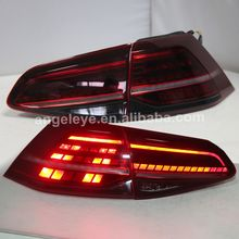For VOLKSWAGEN Golf 7 LED Tail Lamp Red Color 2013-2014