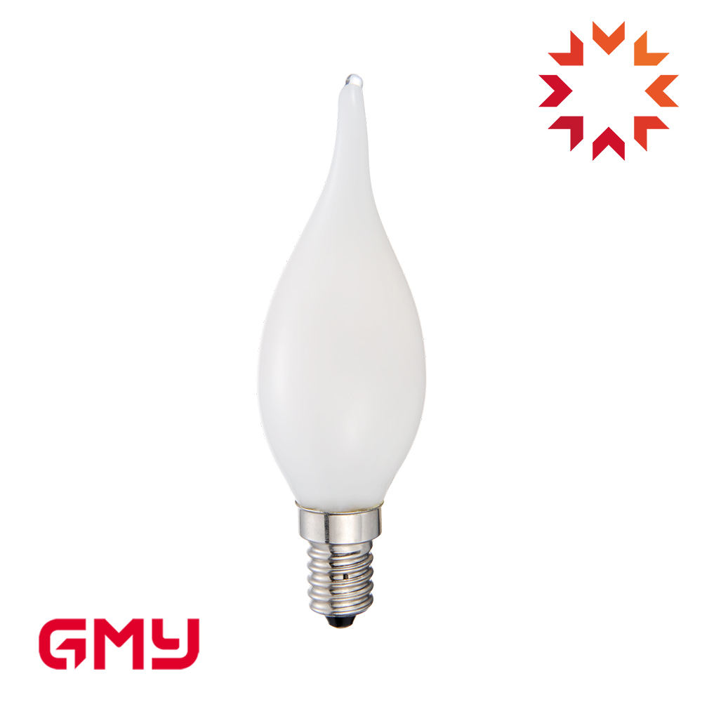 BA11 Putih Susu 4.5 W Dimmable LED Bulb Lampu Hias LED Filament Bulb