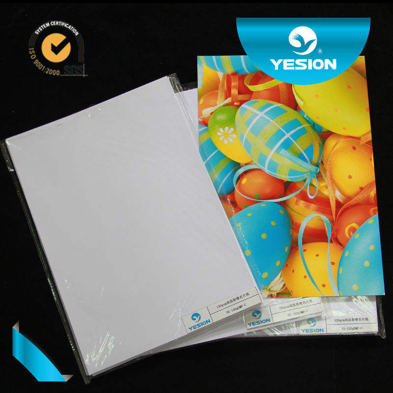 Wholesale A3 A4 cast coated Double sided glossy inkjet photo paper 140g 160g 200g 220g 260g 280g 300g professional factory