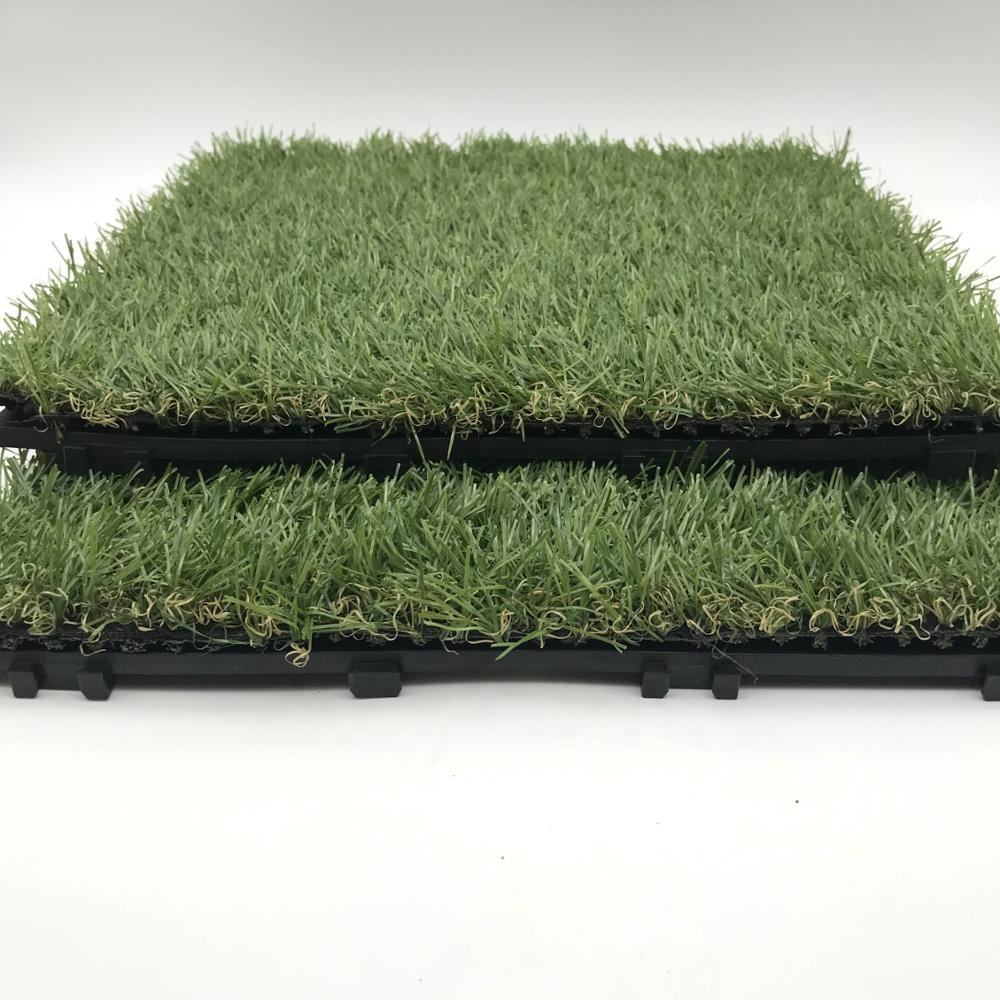 ENOCH Free samples PP interlocking removable artificial grass sports flooring