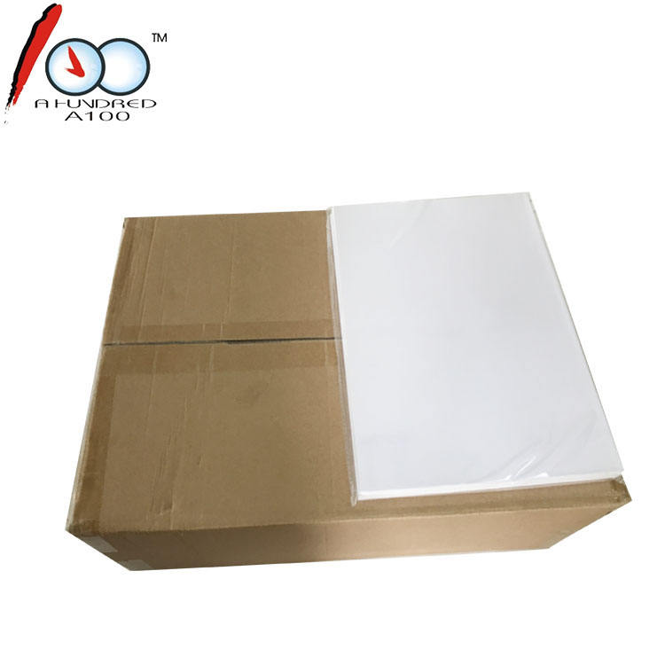 A3 230G Double sided inkjet matte embossing white cardstock paper