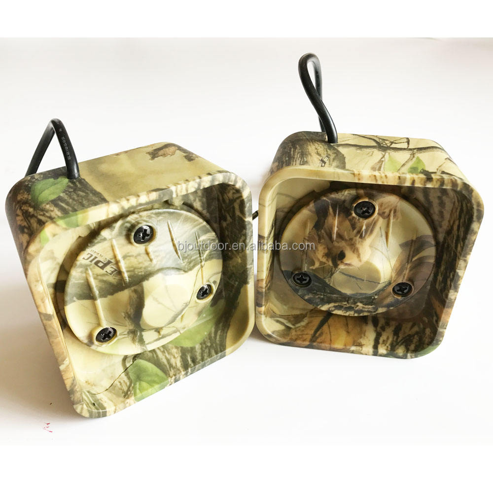 Camo hunting speaker hunting bird caller speaker duck call speaker from BJ Outdoor