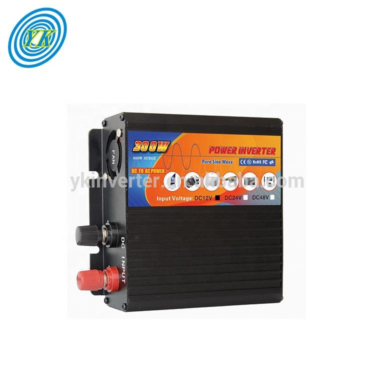 solar 300w pure sine wave inverter 24volt power inverter used in home