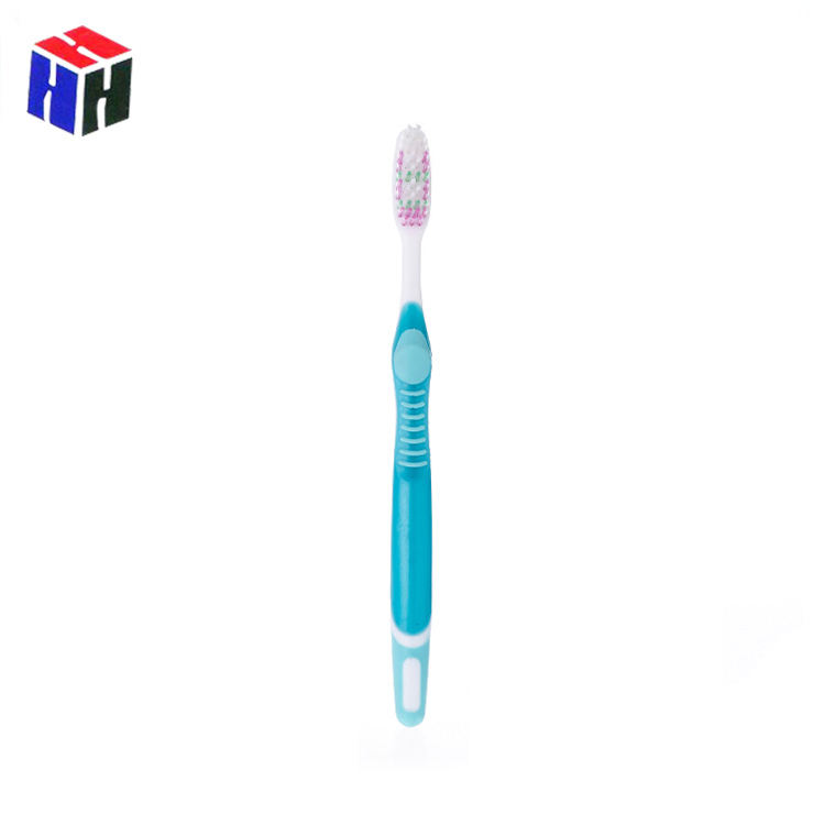 Low Price Printing Logo Wholesale Plastic Adult Toothbrush Set For Daily Home Use
