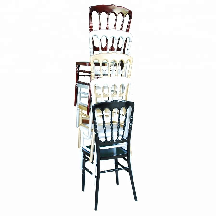 cheap price wedding hall white plastic chair napoleon
