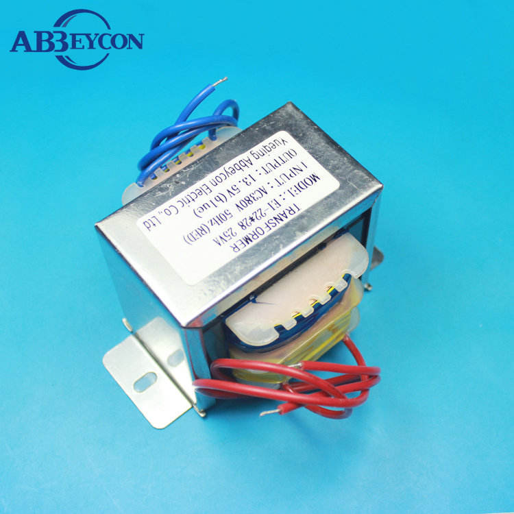 Manufacturer Professional 12v 1600ma transformer ac to dc,EI-41 power transformer made in China