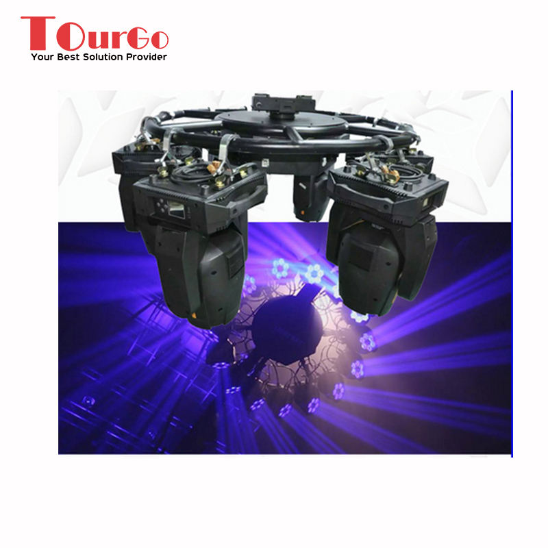 TourGo Aluminum Rotating Lighting Circle Truss For Sale