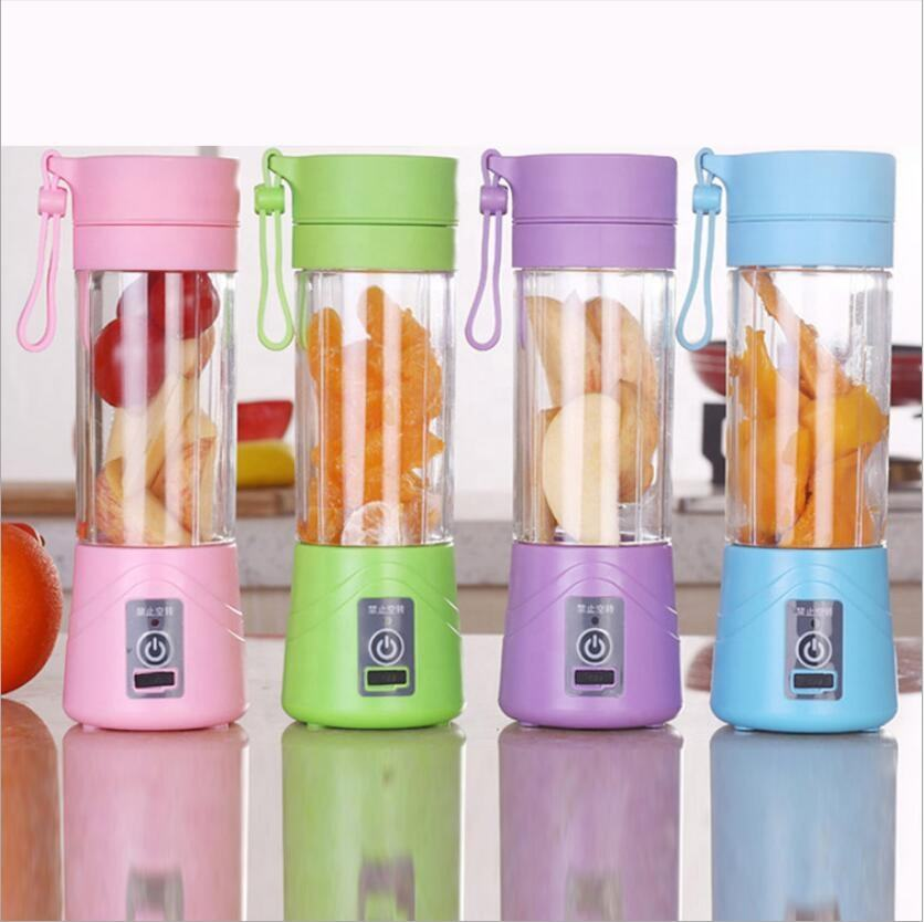 380ml Portable electric juice cup multifunctional mini Juicer USB blender