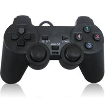USB Wired PC Game Controller Gamepad Shock Vibration Joystick Game Pad Joypad Control for PC Computer Laptop