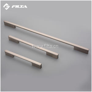 Zinc alloy material pull down cabinet furniture handle
