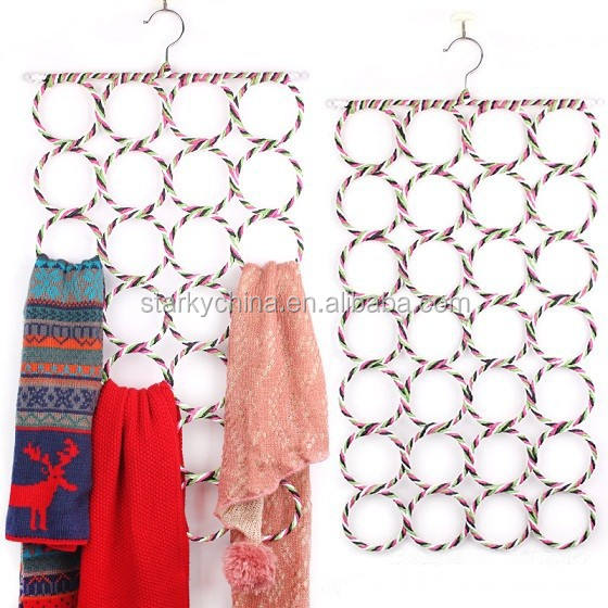 Decorative 28 Holes Scarf Hanger Wholesale